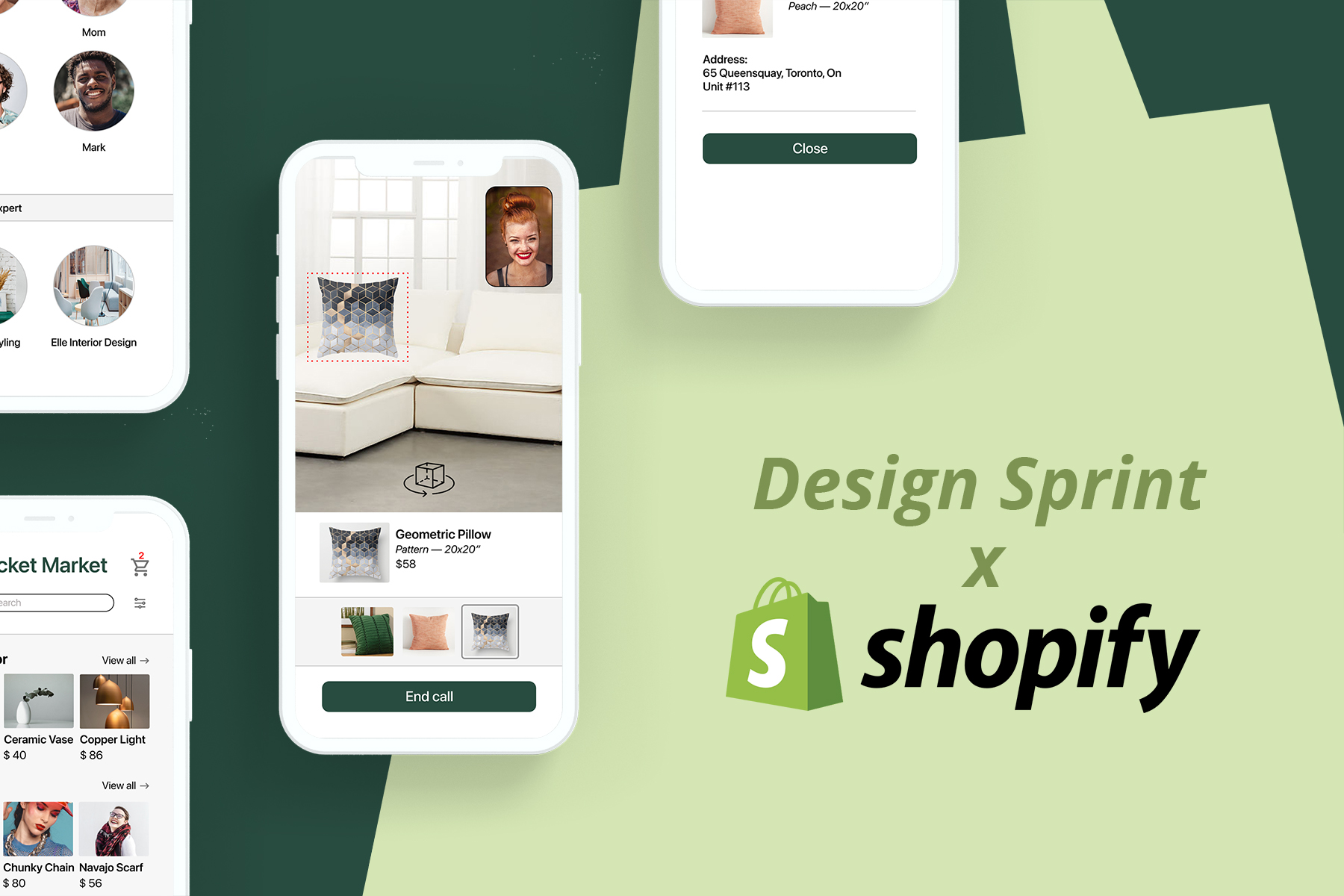Design sprint x Shopify